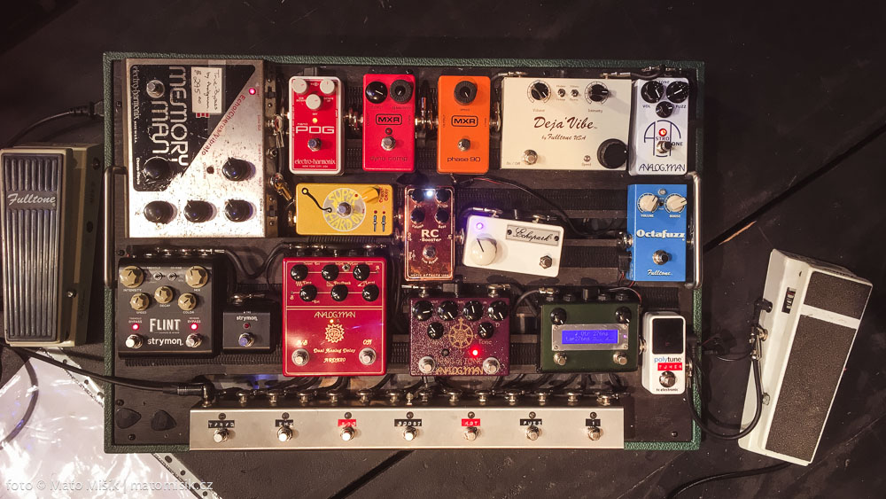 Helcl pedalboard